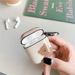Edgin - Bear Print AirPods Case Protection Cover