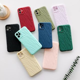 Wild Pony - Crinkled Phone Case for iPhone 6S / 6S Plus / 7 / 7 Plus / 8 / 8 Plus / X / XS / XR / XS Max / 11 /11 Pro / 11 Pro Max