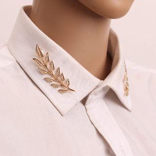 Terreau Kathy - Leaf Collar Brooch