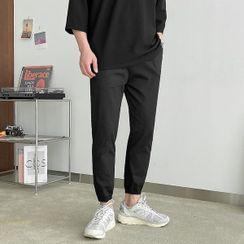 Seoul Homme - Drawcord-Waist Jogger Pants