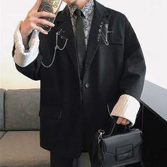 Bjorn - 扣別針裝飾西裝外套