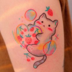 METZ - Cat Waterproof Temporary Tattoo