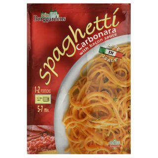Grainee Foods - Borggardens Spaghetti Carbonara with Bacon Sauce