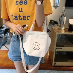 Eastin - 印花帆布手提包
