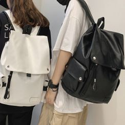 EAVALURE - Faux Leather Backpack