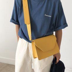 Mirandopa - Faux Leather Crossbody Bag