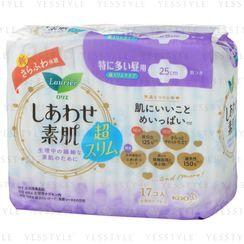 花王 - 乐而雅F素肌纤薄卫生巾 25cm
