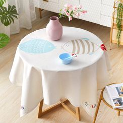 iMpressee - Print Round Tablecloth