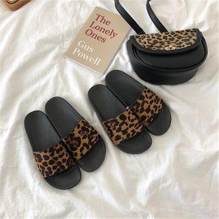 ZORI - Leopard Print Slippers