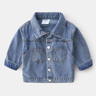 貝殼童裝 - 小童牛仔夾克