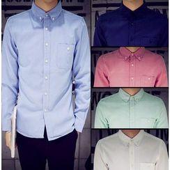 Kieran - Plain Oxford Shirt