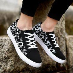 Viffara - 印花帆布休閒鞋