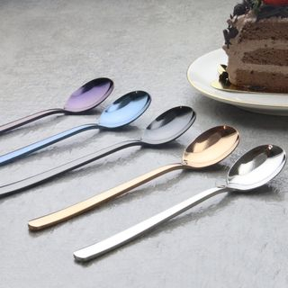 Nestal - Stainless Steel Dessert Spoon