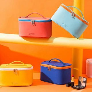 Evorest Bags - Color Panel Makeup Bag