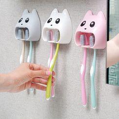 Maltjoy Home - Animal Adhesive Toothbrush Holder