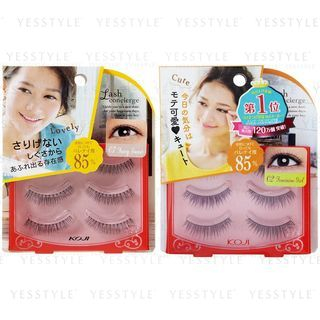 Koji - Lash Concierge False Eyelashes 3 pairs - 6 Types