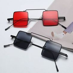 Aisyi - 方形復古太陽眼鏡