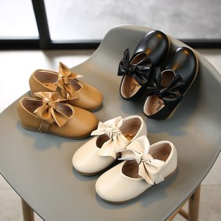 Luco - Kids Bow-Accent Flats