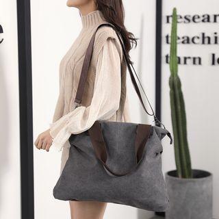 Koln - 双色帆布手提包