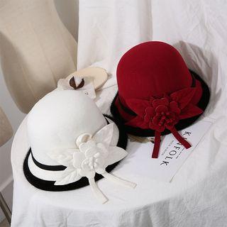 Skycap - British Retro Flowers Dome Hat