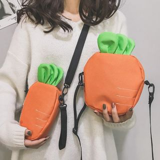 Youme - 紅蘿蔔輕型斜挎包