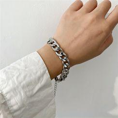 Pialoca - Chunky Chain Stainless Steel Bracelet