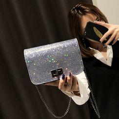 Cedeles - Glitter Flap Crossbody Bag