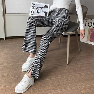 Romarin - Slit-Hem Boot-Cut Pants