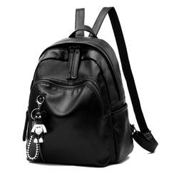 Aquilegia - Faux Leather Backpack