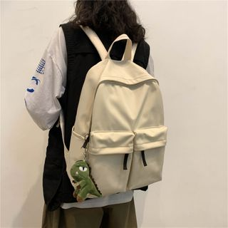 Carryme - 饰口袋轻款背包