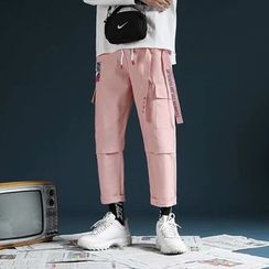 Macho - Crop Straight Fit Pants