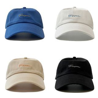 Heloi(ヘロイ) - Embroidered Lettering Baseball Cap