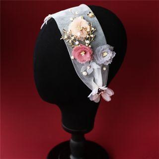 First Impression - Wedding Flower Headband