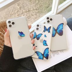 Huella - Butterfly Phone Case For iPhone 7 / 7 Plus / 8 / 8 Plus / X / XS / XR / XS Max / 11 / 11 Pro / 11 Pro Max