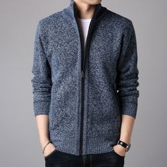 Pompadour - Zip-Up Knit Jacket
