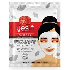 Yes To - Yes to Tomatoes: Detoxifying & Hydrating White Charcoal Paper Mask