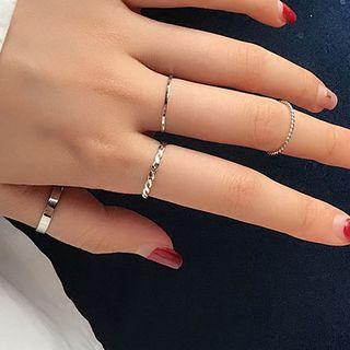 JAMIEL - Set of 4: Minimal Ring