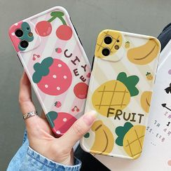 Sugar&Spice - Fruit Print Phone Case - iPhone 11 Pro Max / 11 Pro / 11 / XS Max / XS / XR / X / 8 / 8 Plus / 7 / 7 Plus / 6s / 6s Plus