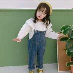 Cerula - Kids Denim Jumper Pants