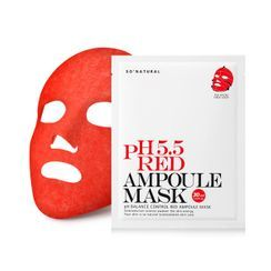 so natural - pH 5.5 Red Ampoule Mask