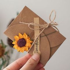 Orange Affair - Kraft Paper Envelope (various designs)