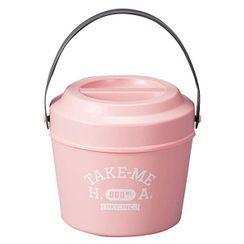 Hakoya - Hakoya Bucket Lunch Box (Take me) (Pink)