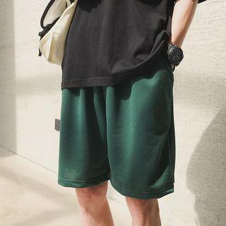 Wescosso - Simple Plain Shorts