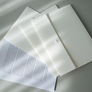 Geeyear - Set of 3: Plastic Document Folder