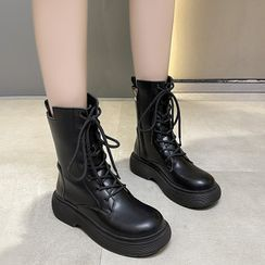 Miloko - Platform Short Boots
