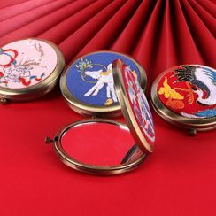 candycross - Portable Mirror DIY Embroidery Kit