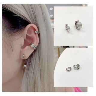 PANGU - Stainless Steel Cuff Earring