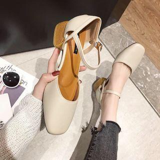 Novice(ノバイス) - Block Heel Sandals