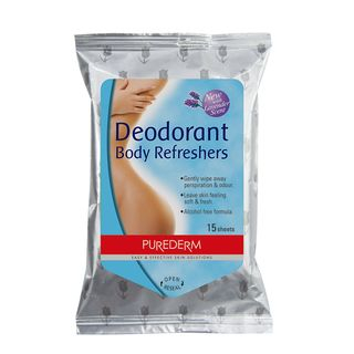 PUREDERM - Deodorant Body Refreshers 15pcs