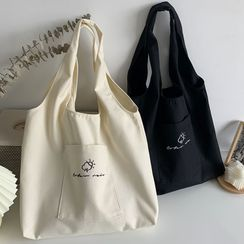 kissogram - Cartoon Embroidered Tote Bag